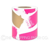 Brush strokes bright pink gold belli-band®