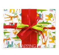 zoo 4 u wrapping paper