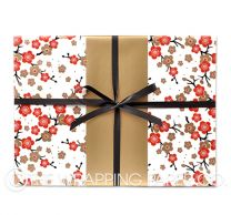 Japanese blossom wrapping paper