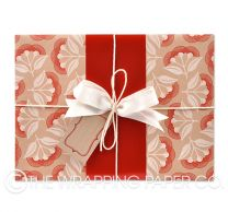 Pohutukawa kraft wrapping paper