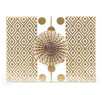 gold diamonds wrapping paper