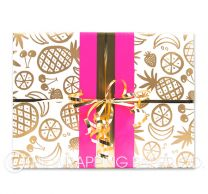 Pina colada wrapping paper