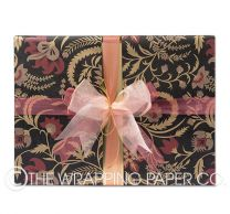 Coromandel black kraft wrapping paper