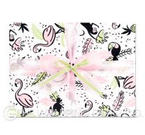Jungle jive wrapping paper
