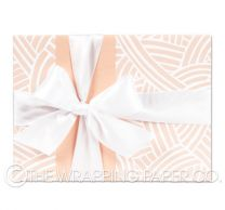 Weave nude gloss wrapping paper