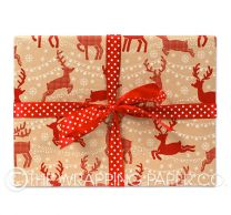 christmas dash christmas wrapping paper