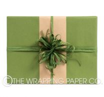 FOREST GREEN KRAFT LARGE ROLL