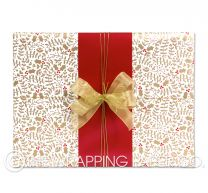 hollydays christmas wrapping paper