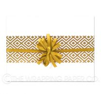 Matt bright white wrapping paper