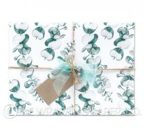Serenity matt wrapping paper