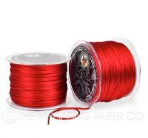 China cord red ribbon