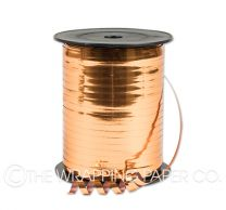 Metallic copper curling ribbon