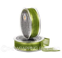 SATIN EDGE ORGANZA AVOCADO