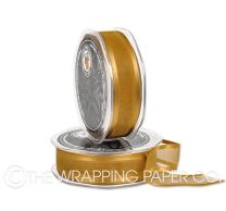 SATIN EDGE ORGANZA GOLD