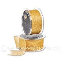 ORGANZA WIRE EDGE GOLD