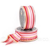 38 GROSGRAIN STRIPE  CANDY