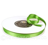 15X100M SATIN RIBBON LIME
