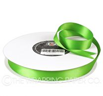 22X100M SATIN RIBBON LIME