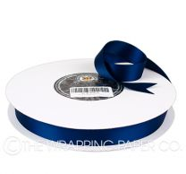 22X100M SATIN RIBBON NAVY