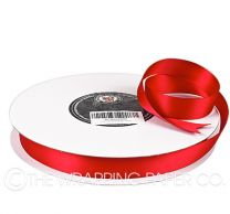 22X100M SATIN RIBBON RED