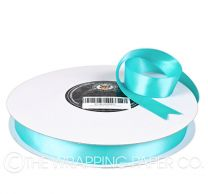 22X100M SATIN RIBBON SKY BLUE