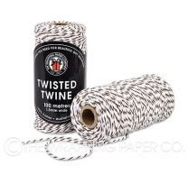 TWISTED TWINE BROWN WHITE