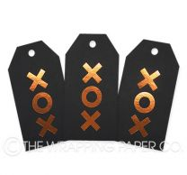 TAG FOIL BLACK XOX COPPER