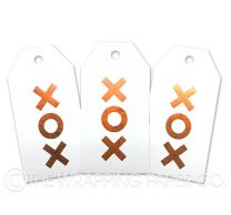 TAG FOIL WHITE XOX COPPER