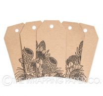 TAG INK KRAFT FLOWER TRIBE