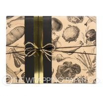 Harvest kraft wrapping paper