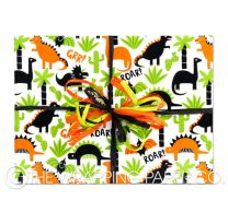 Dino-mite wrapping paper