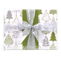 christmas forest christmas wrapping paper